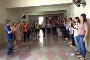 Aconteceu neste domingo (24), o I Encontro de Instrutores e Interpretes de Libras do Agreste